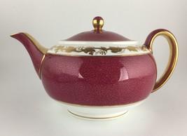 Wedgwood Whitehall Ruby W3994 Teapot & lid - $200.00