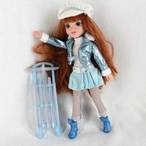 Moxie Girlz Kellan Magic Snow Doll Red Hair Freckles Clothes Sled NO Feet - $13.99