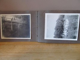Antique Picture Book~30 B&W Pictures~c. Late 1800's/Early 1900's~Good Co... - $13.06