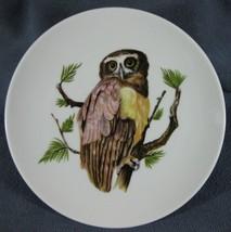 "Spectacled Owl Decorative Plate Round 7.5"" House of Goebel Bavaria West Germany - $17.95"