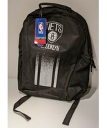 NBA Brooklyn Nets Black Backpack Durable Polyester FoCo Primetime Adult ... - $27.43