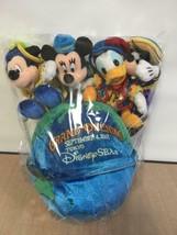Tokyo Disney Sea Grand Opening Globe Plush doll Mickey Mind Donald Goofy - $66.33
