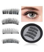 Magnetic Eyelashes with 3 Magnet 3D Magnetic Lashes Hand Made Natural Lo... - $18.40+