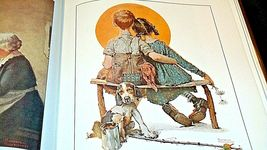 The Best of Norman Rockwell Hard cover Book AA20- CP2172 Vintage image 3