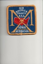 Mid America Council patch - $4.16