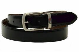 Tommy Hilfiger Men's Premium Reversible Belt Brown/Black 11TL08X014 image 2