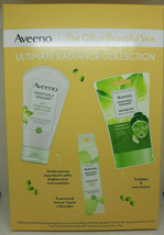 Aveeno Ultimate Radiance Collection Skincare Gift Set with Brightening D... - $10.84