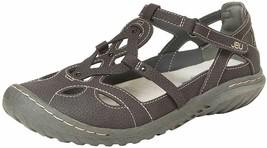 NEW JBU by Jambu Charcoal Ladies' Sydney Flat Sandals for Women JB19SNY01