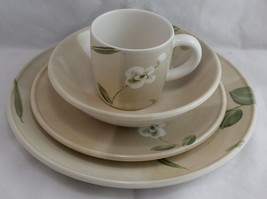 Crate & Barrel ORCHID 4 Pc Place Setting Royal Stafford England Plate/Salad/Bowl - $35.63