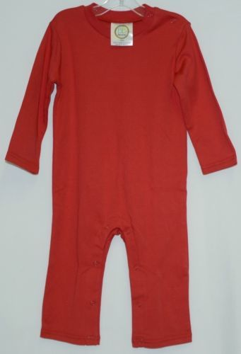 Blanks Boutique Boys Long Sleeved Romper Size 18 Months Color Red
