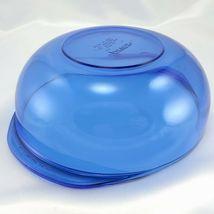 Pyrex 024 Cobalt Blue Bowl 2 qt Serving Casserole w/ 024C Lid Made in the USA image 8