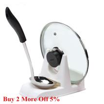 кухня Spoon Pot Lid Shelf Cooking Storage Kitchen Decor Tool Stand Holde... - £4.33 GBP