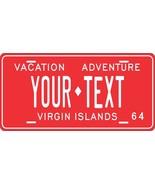 Virgin Islands 1964 License Plate Personalized Custom Car Bike Motorcycl... - $10.99+