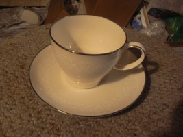 Noritake Lorelei cup and saucer 5 available - $4.16