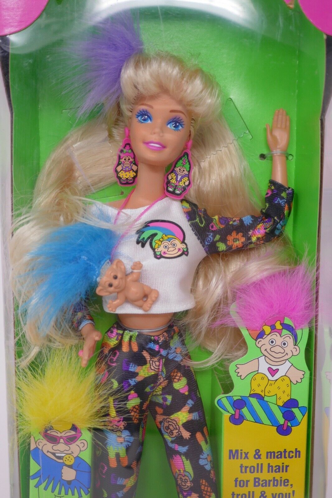 Primary image for Mattel 1992 Troll Barbie Doll #10257 NRFB (B)