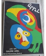 Vintage Gallery Ariel - Arrel Artwork Poster - 1974 - Paris - Very Good ... - $69.29