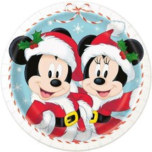 Disney Mickey & Minnie Mouse Lunch Dinner Plates Birthday Party Supplies... - $4.54
