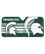 NCAA Michigan State Spartans Deluxe Universal Fit Auto Windshield Sun Shade - $29.95