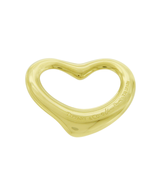Tiffany & Co. 18k Yellow Gold Elsa Peretti Open Heart Pendant 22 mm 5 Gr... - $413.39