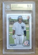 JASSON DOMINGUEZ 2020 BOWMAN DRAFT ROOKIE CARD#8 BGS 9.5!YANKEES OF RC F... - $197.99