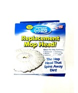 Hurricane 360 Spin Mop Replacement Head for Tiles, Ceramic, Hardwood, Ma... - $11.29