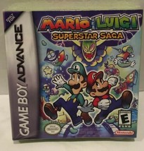 Mario & Luigi Superstar Saga Player Nintendo Game Boy Advance GBA New Ol... - $74.24
