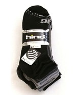 Hind Hydra Black & Gray Low Cut Socks 10 in Package  Men's  NWT - $29.69
