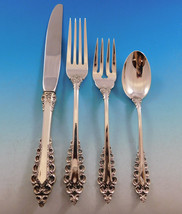 Florentine Scroll by Lunt Sterling Silver Flatware Service for 12 Set 53... - $3,195.00