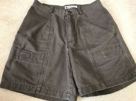 Columbia Olive Green Cargo Shorts, Women's Size 4 - $14.24