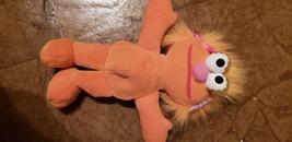 "Sesame Street Zoe doll 1997 8"" tall - good condition - $6.92"