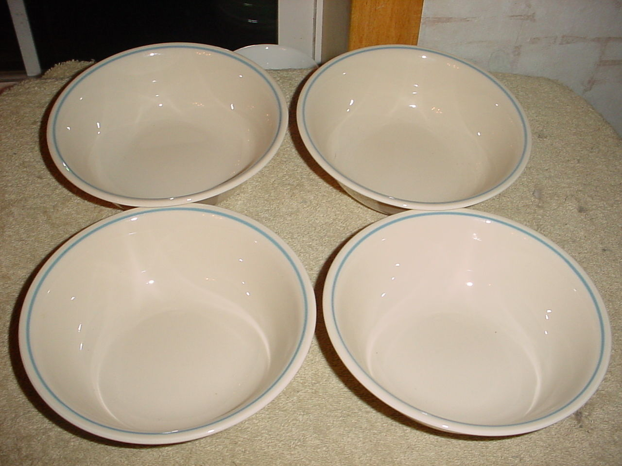 Primary image for CORELLE FIRST OF SPRING SOUP / CEREAL BOWLS x 4 VGUC FREE USA SHIPPING
