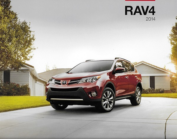 Primary image for 2014 Toyota RAV4 sales brochure catalog 14 US RAV 4 LE XLE Limited