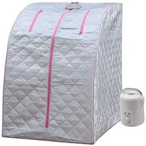 Lightweight Personal Steam Sauna by Durasage for Relaxation at Home, 60 ... - $130.43