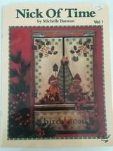 Nick of Time Christmas Tole Painting Book Michelle Bastean Santa Napkin ... - $4.00