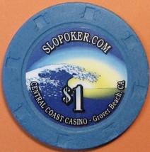 $1 Casino Chip. Central Coast, Grover Beach, CA. S38. - $4.29
