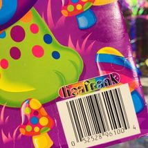 WOW GREAT VTG LISA FRANK Peekaboo Turtle Folder 90-00s Very Nice image 3