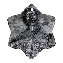 Star Wars Inspired Han Solo Carbonite Procelain Ornaments (Snowflake) Ch... - $3.95