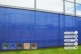 Heavy Duty Fence Privacy Screen 8ft x 50ft, Chain Link Fence Cover, Shad... - $92.24