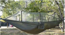 Acampar Aire Libre Portátil Red Mosquitos Nailon Hamaca Colgante Cama Swing - $32.30