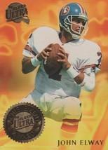 John Elway 1994 Fleer Ultra Achievement Award Insert #2 Of 10 Card Is NM/MT - $1.55
