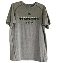 Youth Adidas Portland Timbers Youth Practice Climalite Tee XL Men's Small - $12.84