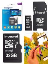Integral INMSDH32G10-90SPTAB Carte SD 32 GB  - $20.75