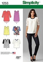 Simplicity Creative Patterns 1253 Misses' Top with Length Variations, Size: P5 1 - $13.23