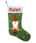 Gnome Christmas Stocking - Personalized and Hand Made Gnome Tomte Stocking - $28.49+