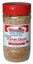 Weaver's Amish Dutch Country Farm Dust Seasoning - 8 Ounces - Spicy Flavor - $18.74