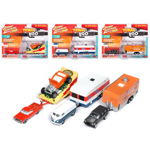 Tow & Go Series 1, Set B of 3 Cars Johnny Lightning 50 Years Limited Edi... - $75.22