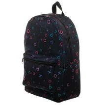 Playstation All Over Print Backpack Bag Black - $46.98