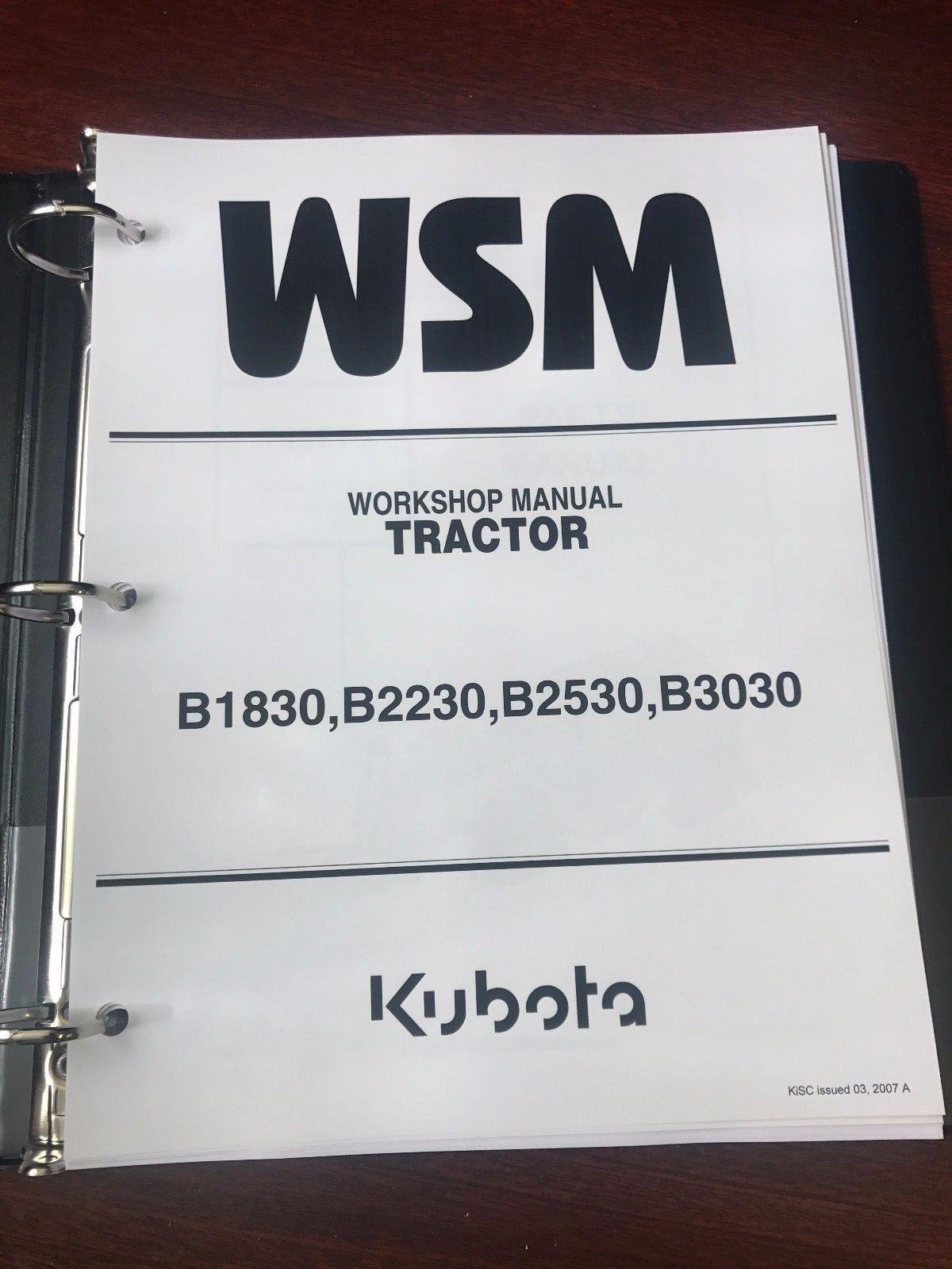 kubota service manual 32 listings