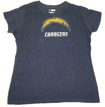 Junior Women's NFL Chargers Shirt Football Tee Vintage Bolt T-Shirt