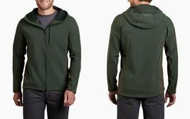KUHL Men's Protektr Hoody Size Medium Softshell Jacket 1140 NEW, Dark Mo... - $124.02